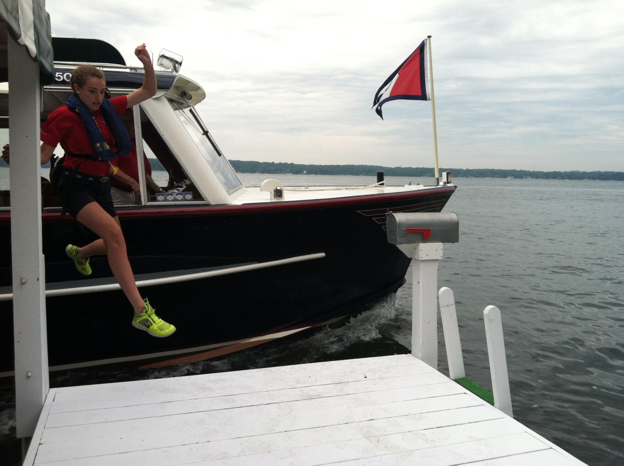 In the News: Mail Boat Jumper Tryouts | Best of Lake Geneva
