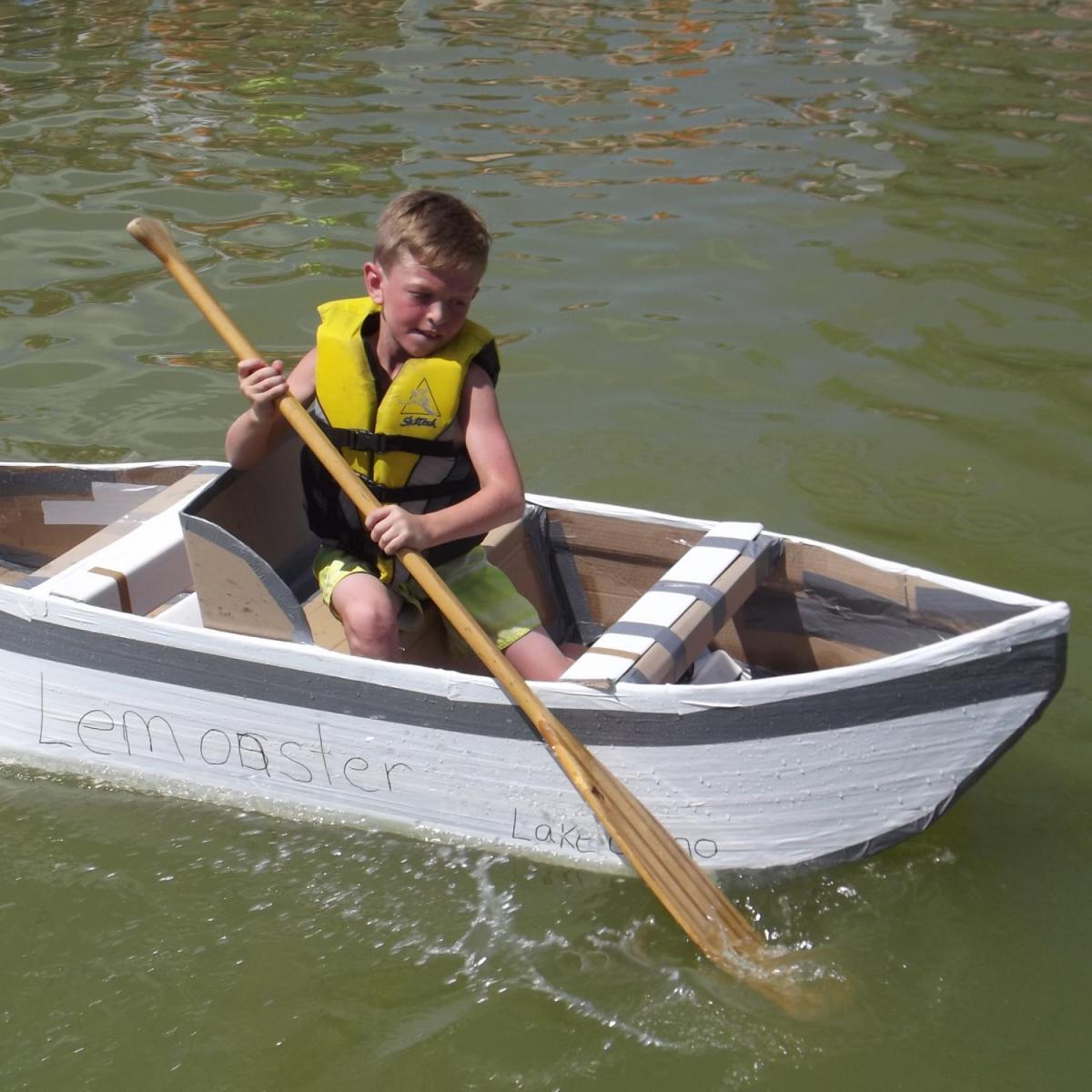 Swim Spa For Sale >> Cardboard Boat Races on Lake Como | Best of Lake Geneva
