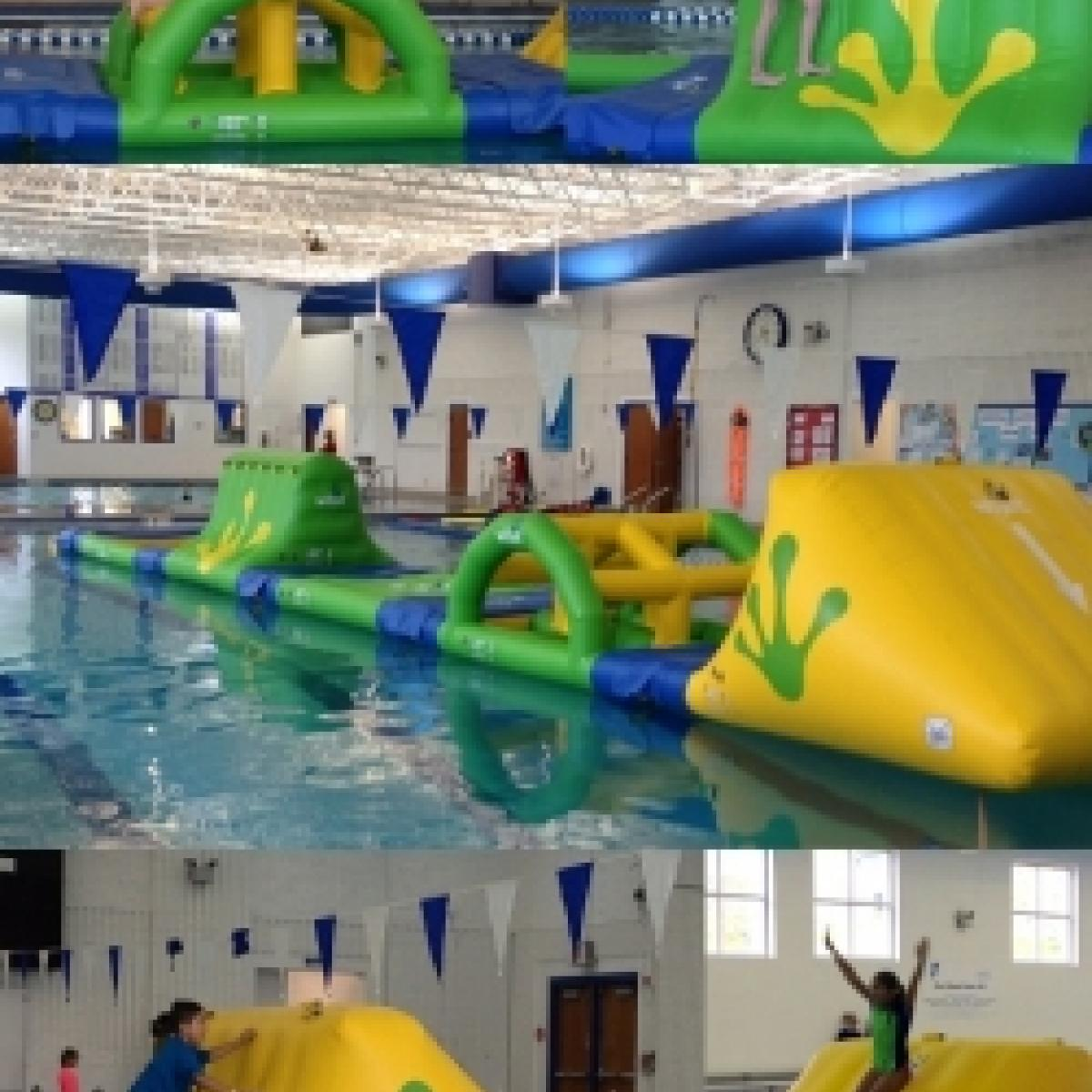 Wibit Inflatable Obstacle Course At The Ymca Best Of