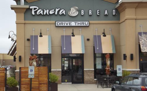panera bread drive thru near me